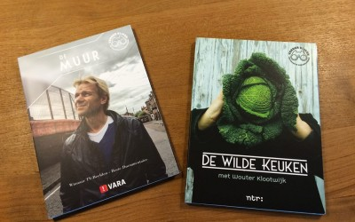 DVD-verpakking 'De Wilde Keuken' en 'De Muur'