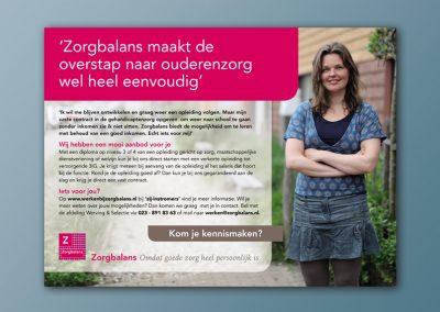 Zorgbalans (werving)advertenties