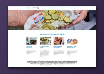 Website Visspecialist De Dolfijn