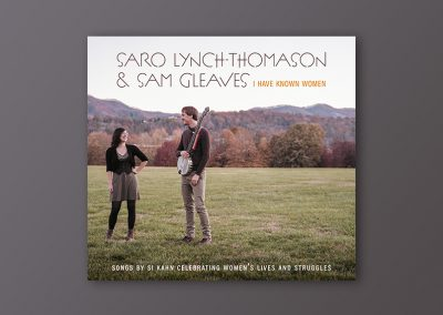 Digipack Saro Lynch & Sam Gleaves